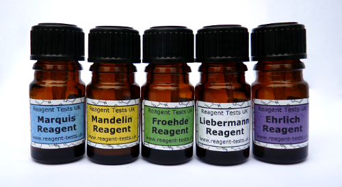 Marquis, mandelin, ehrlich and froehde reagents