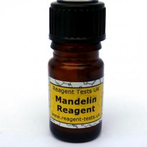 Mandelin reagent test bottle