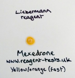 Mexedrone Liebermann yellow orange