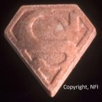 Pink Superman PMMA ecstasy pill