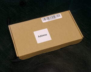 Picture of plain brown box